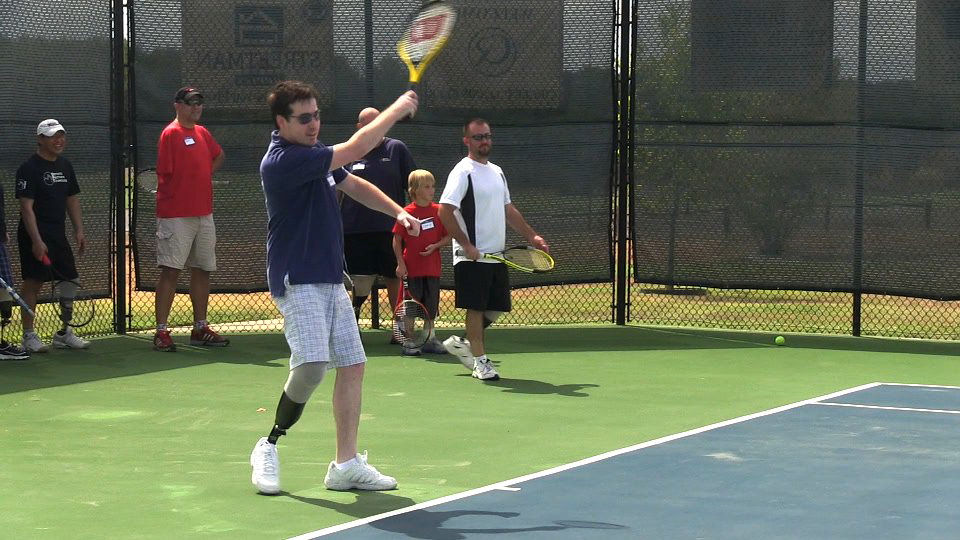Tennis for Amputees