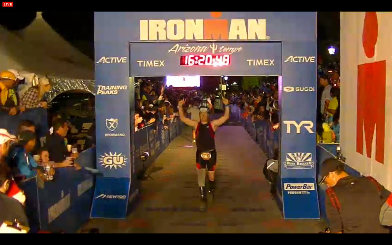 Damon Clifford Ironman Arizona 2013